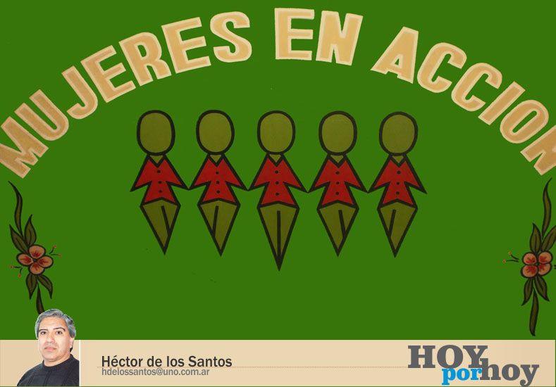 Mujeres en acción contra la violencia de género