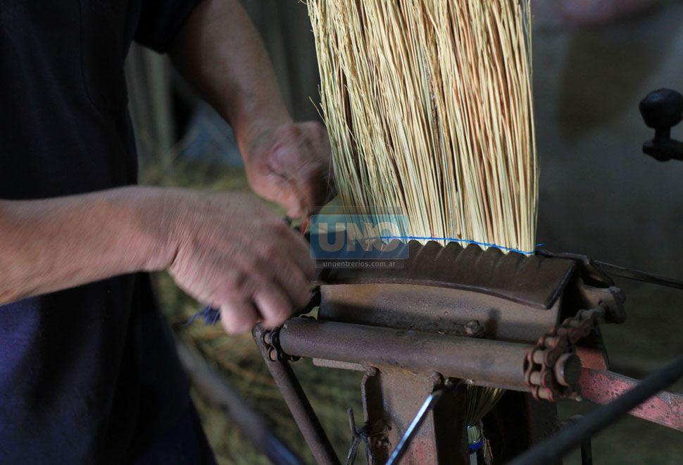 La escobería.  Foto UNO/Juan Ignacio Pereira
