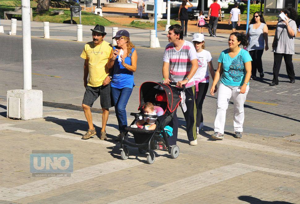 Cientos de personas visitan la provincia. Foto UNO/Archivo ilustrativa