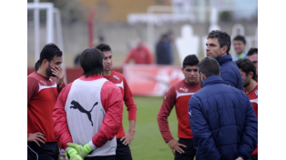 Independiente se prepara para el domingo