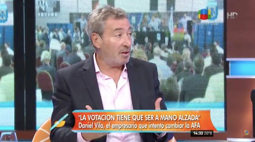 Daniel Vila: A Tinelli le robaron los votos, fue un fraude