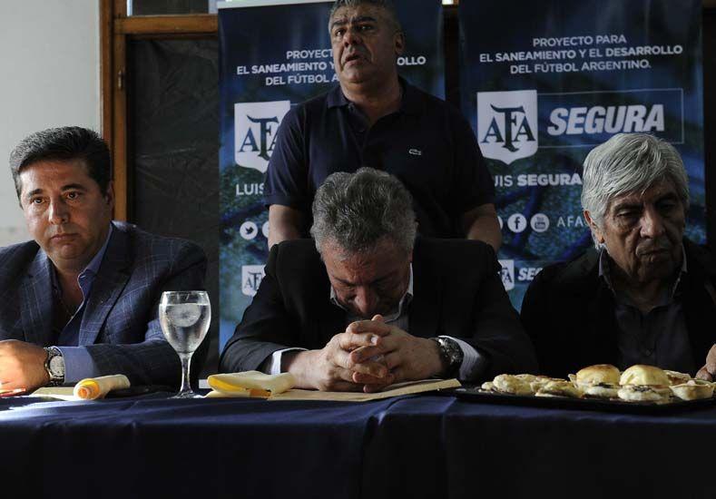 Segura dijo que buscará un consenso con Tinelli