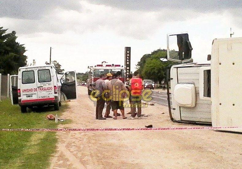 Grave accidente en la ruta 11 dejó como saldo dos personas fallecidas