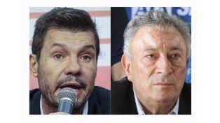 Luis Segura y Marcelo Tinelli, por el sillón de la AFA, en una elección histórica