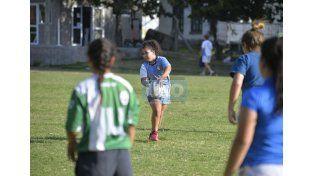 El inicio de la actividad fue con nenas entre 7 y 14 años.  Foto UNO/Mateo Oviedo