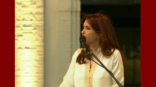 La Presidenta encabeza la inauguración de obras de preservación en la ex ESMA