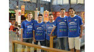 Son las promesas del elenco de Villa Uranga y van por el ascenso a Primera División. Foto UNO/Mateo Oviedo