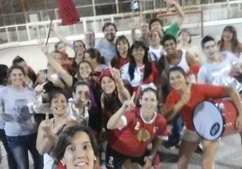La selfie. Ya es una tradición en cada plantel que logra un título y en Talleres esta situación no fue la excepción.