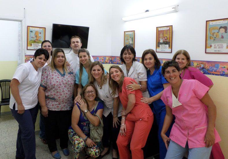 Servicio. La sala es única en su tipo en territorio entrerriano. Foto Gentileza/Servicio de Cuidados Paliativos.