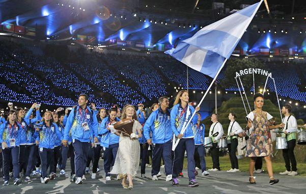 Referente. La ex leona fue la abanderada en los Juegos Olímpicos de Londres 2012. Su figura siempre sobresalió.