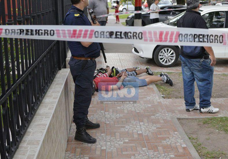 Arrebato, persecución y tiros en las inmediaciones de la cancha de Patronato