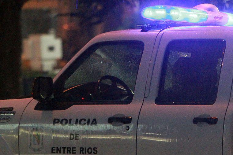 Balearon a un hombre desde un auto en Paraná
