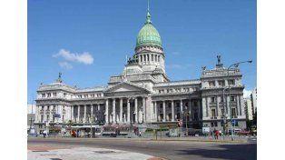 Congreso de la Nación Argentina.   Foto: Télam