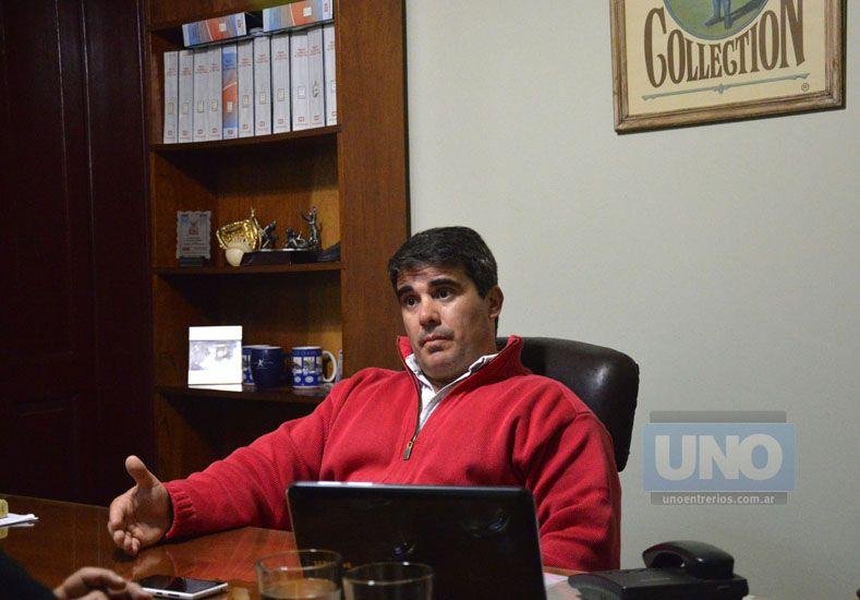 El entrenador de la Selección Argentina Mayor