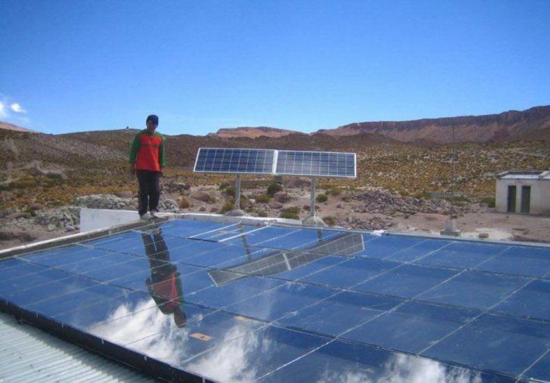 Progreso. En otras provincias incorporan energías alternativas.  Foto: Internet ilustrativa