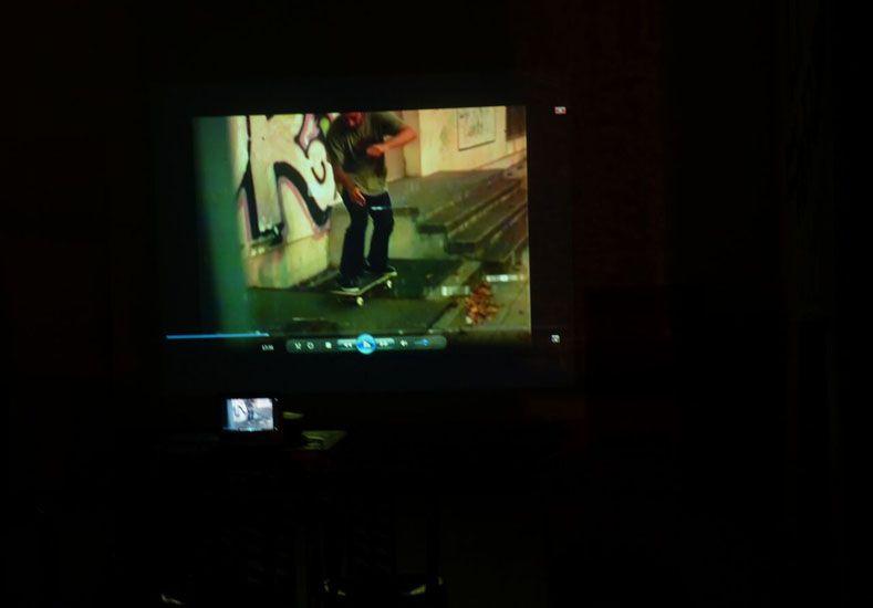 Mirar películas de skate como en el cine con pruebas en vivo