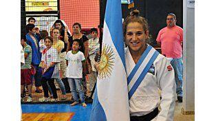 Pareto fue la abanderada del campeonato que se realizó en Concepción.