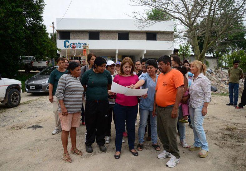 Iniciativas. Obras como las del Centro de Salud San Martín mejoran la vida de los vecinos.