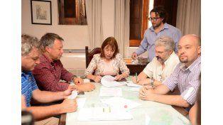 Convenio. Se firmó entre el municipio y la AEA.