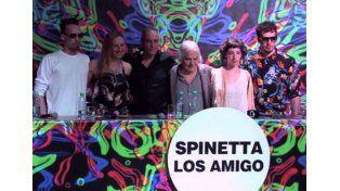 Música. El material respira y transpira la esencia de Spinetta.