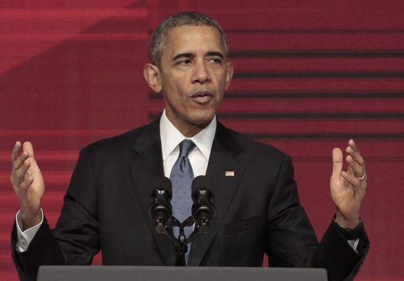 Obama escandalizado
