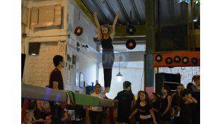 La gimnasia artística a pura exhibición