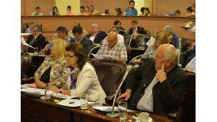Sesión.  La última jornada de trabajo legislativo estuvo cargada de novedades.