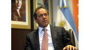 Scioli prometió ser solidario con la gestión de Mauricio Macri