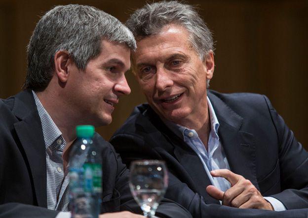 Marcos Peña fue el encargado de dar a conocer públicamente el gabinete de Macri.