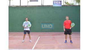 Bien entrenados. Los dos son preparados en la parte física por Nahuel Díaz y van con la mejor expectativa a la cita