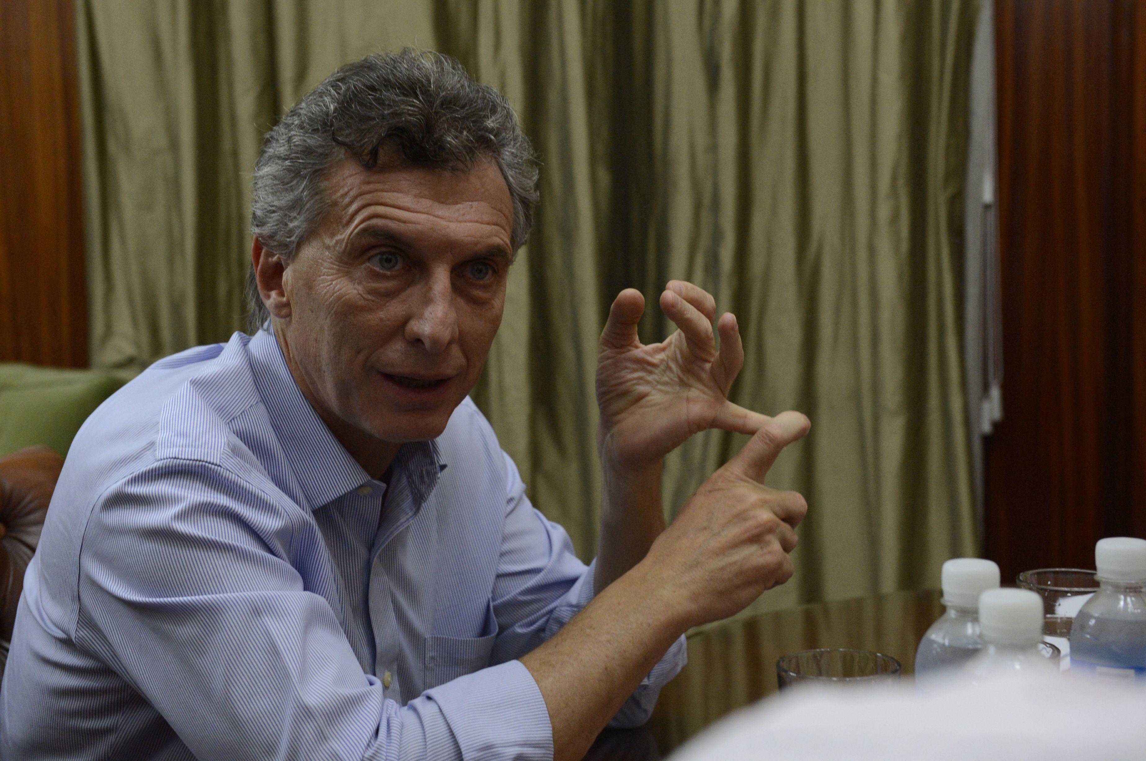 Macri criticó a Cristina porque cree que la transición comienza el 10 de diciembre