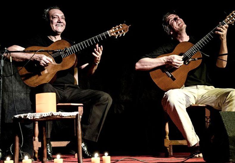 Para oír y aplaudir. Rudi Flores y Ernesto Méndez darán un concierto mañana.