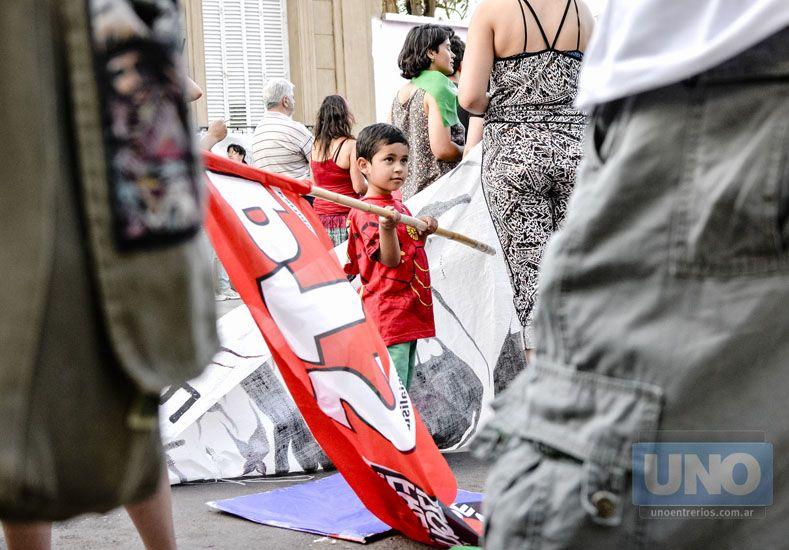 Libres y vivas: Entre Ríos volvió a gritar Ni una menos