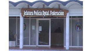 Al calabozo. El sospechoso está alojado en la Jefatura Departamental y hoy sería citado a declarar.
