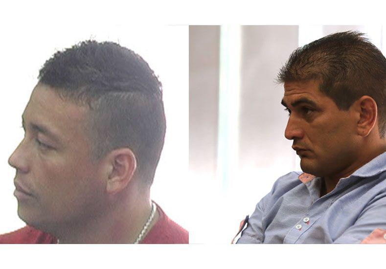 Conocido. Alem (izquierda) evitó el juicio y ya cumple condena. Álvarez dice que estaba trabajando.