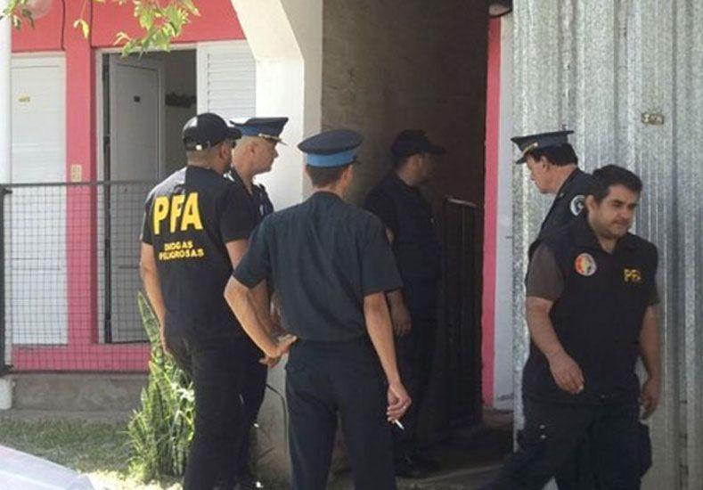 Secuestraron más de 500 kilos de marihuana y detuvieron a tres personas en Federal