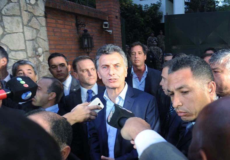 Macri y Cristina se reunieron en Olivos