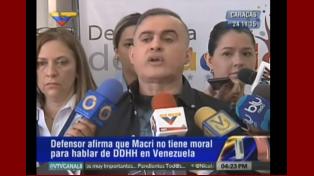 Tarek William, sobre Macri: Que se ocupe de gobernar su país