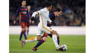 Messi metió dos goles en la victoria del Barcelona