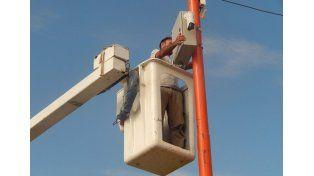 Medidas. Se colocaron 16 cámaras en el casco urbano.