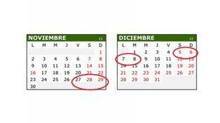 El viernes 27 será feriado