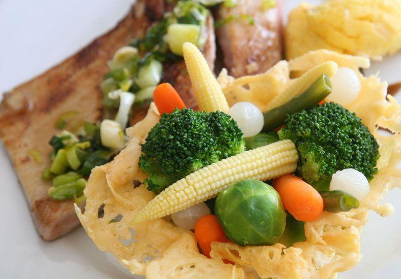 Comer sano. Repercute en el buen rendimiento.  Foto UNO/Juan Ignacio Pereira