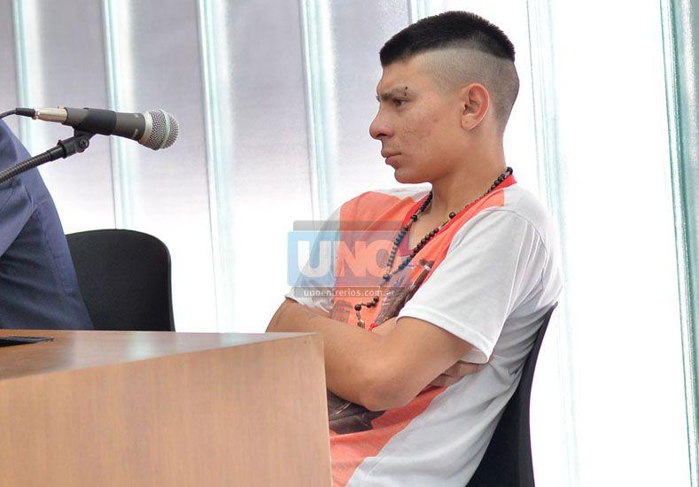 """""""Mentirita"""".  Portillo ya cumple la condena en la cárcel de Paraná.  Foto UNO/Juan Manuel Hernández"""