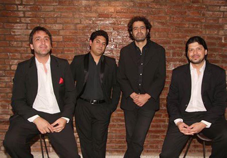 El Cuarteto Furtivo llenará la noche de tango.