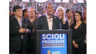 Scioli reconoció el triunfo de Macri y pidió cuidar las conquistas del kirchnerismo