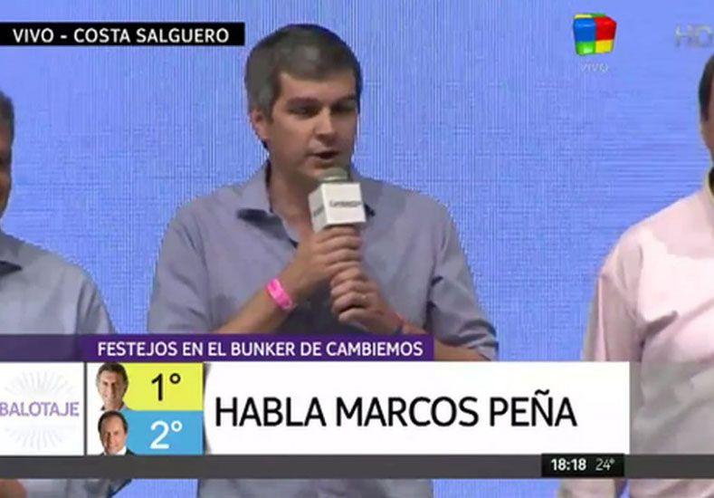 Marcos Peña: Estamos muy felices por lo que ha pasado hoy en Argentina
