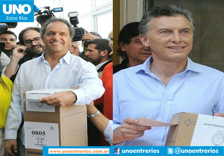 Balotaje Histórico: Ya votaron los dos candidatos a presidente