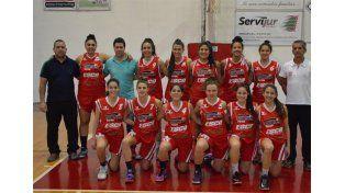 El equipo del club Talleres de Paraná