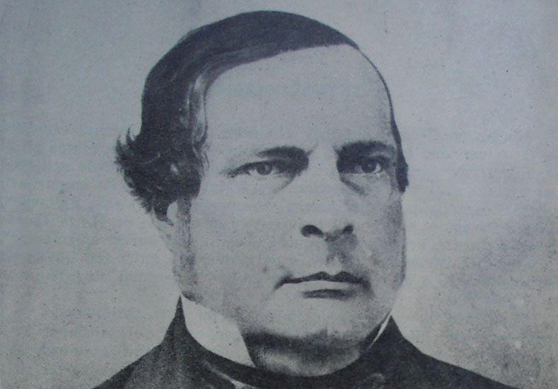 Urquiza. Primer presidente de la Confederación de las Provincias del Río de la Plata.