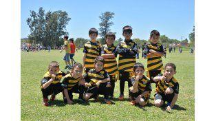 Los pequeños futbolistas de Soever
